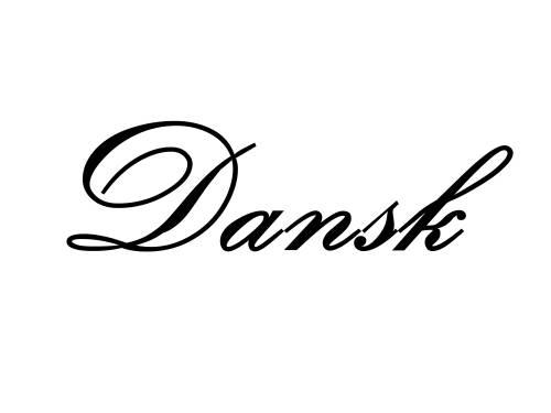 Dansk - Danish